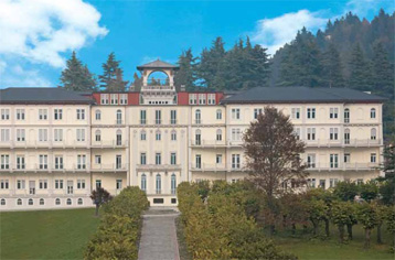 Immagine dell'ospedale M.O.A. Locatelli di Piario, preso dal sito ufficiale dell'Azienda Ospedaliera Bolognini di Seriate